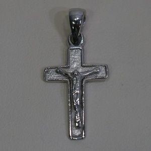 Jewelry - Sterling Silver (.925) 24 x 14mm Crucifix Pendant